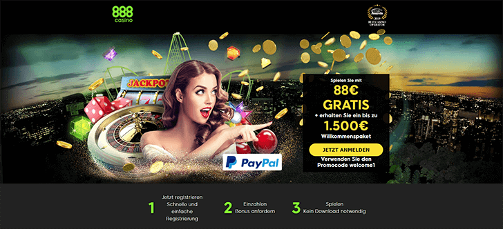 888Casino Bonusangebot neuer Screenshot
