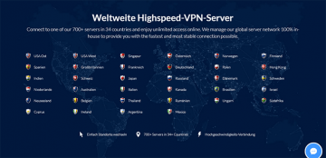 SaferVPN Server Screenshot