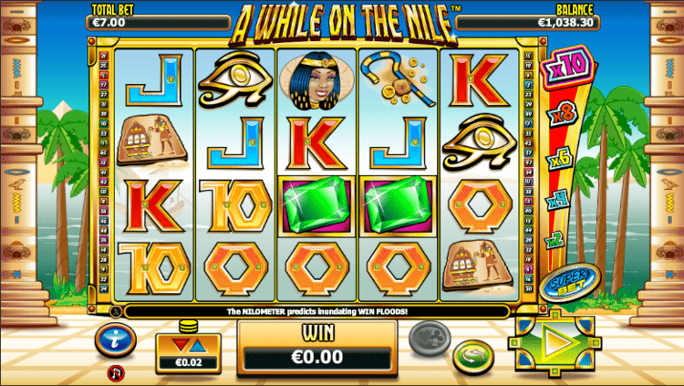 Das A While on the Nile Automatenspiel