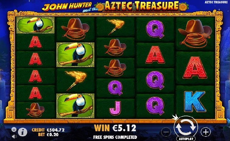 Spiele John Hunter And The Aztec Treasure - Video Slots Online