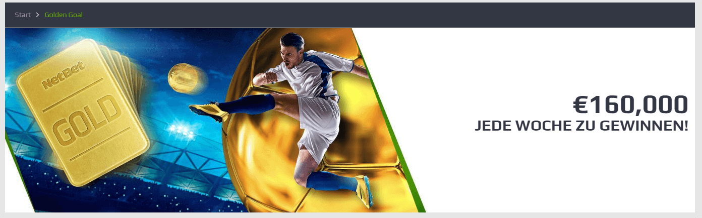 Netbet Golden Goal Angebot